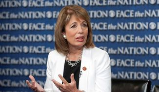 Rep. Jackie Speier, California Democrat. (Associated Press) **FILE**