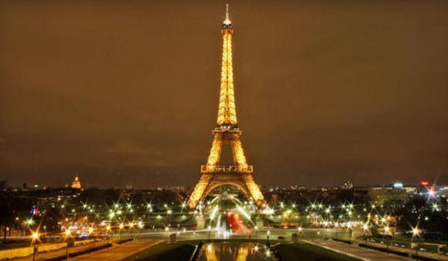 The Eiffel Tower in Paris (Associated Press)