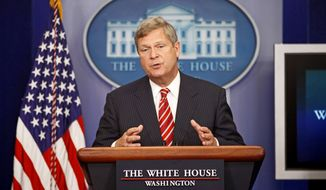 ** FILE ** Secretary of Agriculture Tom Vilsack. (Associated Press)