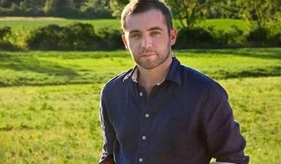 Michael Hastings, an award-winning journalist and war correspondent shown in an undated photo, died early Tuesday, June 18, 2013, in a car accident in Los Angeles, his employer and family said. (AP Photo/Blue Rider Press/Penguin)
