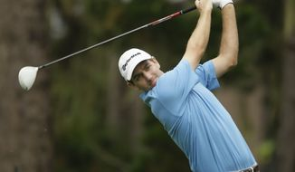 **FILE** Brendon Todd on the Spyglass Hill Golf Course during the second round of the AT&T Pebble Beach National Pro-Am PGA Tour golf tournament in Pebble Beach, Calif., Friday, Feb. 10, 2012. (AP Photo/Eric Risberg)