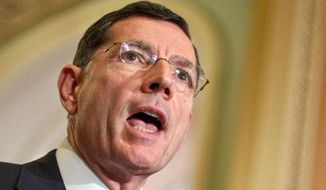 ** FILE ** Sen. John Barrasso, R-Wyo. (Associated Pess)