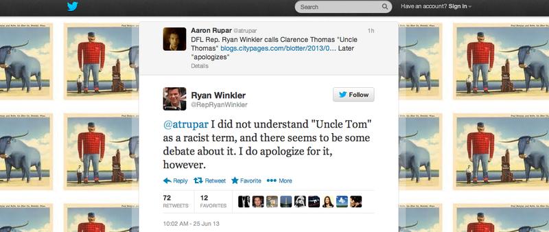 (Screen shot from Twitter)