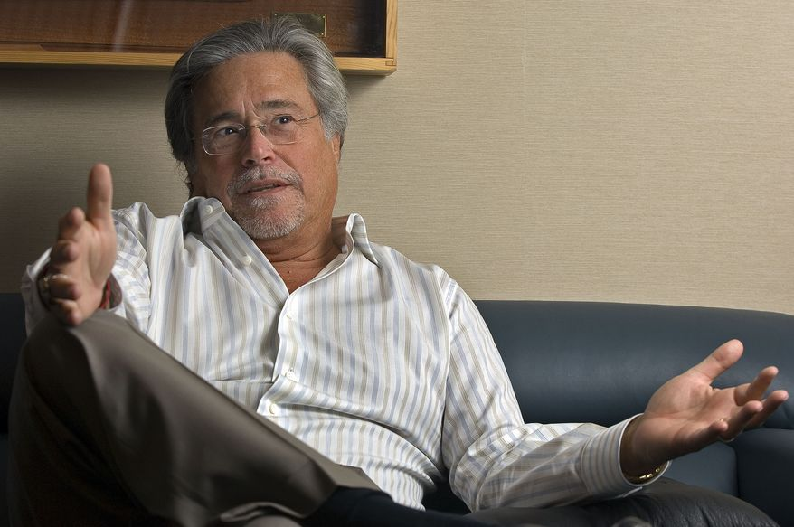 Carnival Corp. Chief Executive Officer Micky Arison speaks about the state of the cruise industry during an interview in his office at company headquarters in Miami in 2007. (AP Photo/David Adame)