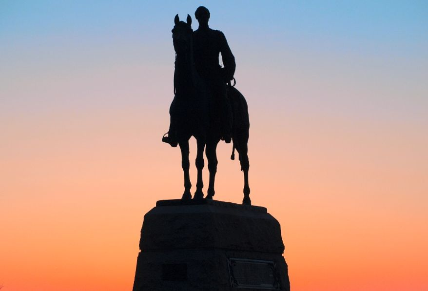 Major General George Gordon Meade Equestrian Monument by H. K. Bush-Brown, dedicated in 1896. (image from the Gettysburg Foundation)