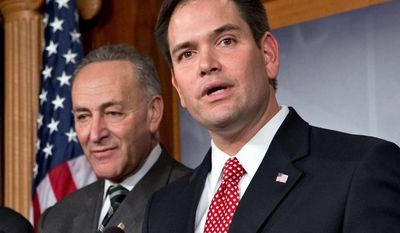 The 68-32 vote in favor of the immigration reform bill was a milestone for the Senate and for the immigration debate, but it was even more important for Sen. Mario Rubio, a first-term Florida Republican who won some but not all of the changes he promised he would try to accomplish. (Associated Press)