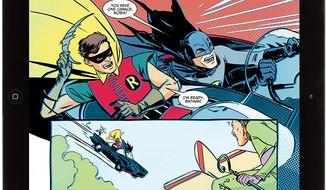 Batman and Robin make a campy, nostalgic return in DC Comics' iPad friendly comic book series Batman '66.
