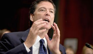 FBI director nominee James B. Comey Jr. knocked down the notion that federal judges on the Foreign Intelligence Surveillance Court rubber stamp surveillance requests during testimony Tuesday before the Senate Judiciary Committee. (Associated Press)