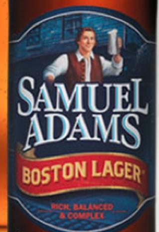 (Close-up of a Samuel Adams beer bottle from http://www.samueladams.com/)