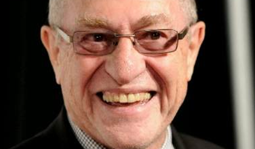 Attorney Alan Dershowitz. (AP Photo/Evan Agostini) ** FILE **