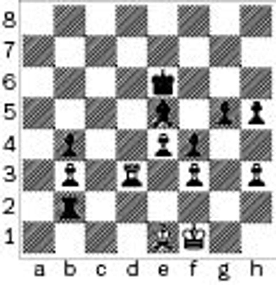 Ramirez-Laznicka after 38. Be1.