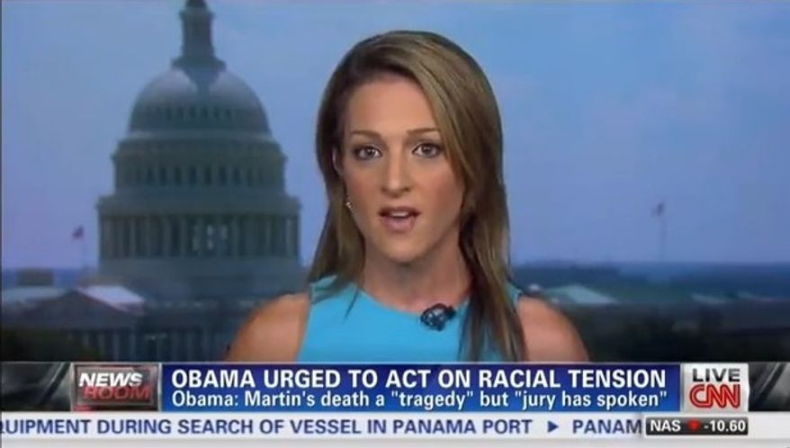 The Washington Times' Emily Miller on CNN. July, 16, 2013.