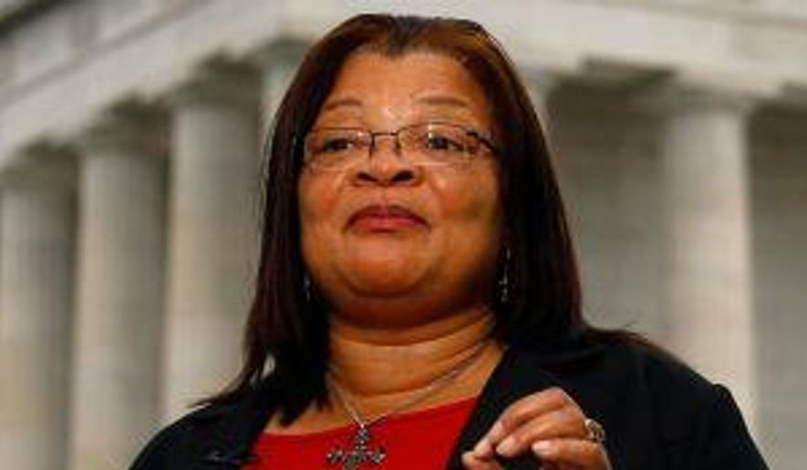 Alveda King is a niece of civil rights leader Martin Luther King Jr. (Associated Press) ** FILE **
