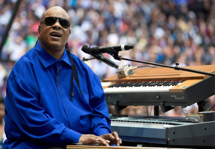 "Stevie Wonder says he will not perform in Florida until its ""stand your ground"" law is abolished. ""As a matter of fact, wherever I find that law exists, I will not perform in that state or in that part of the world,"" he said Sunday during a performance in Canada. (Associated Press)"