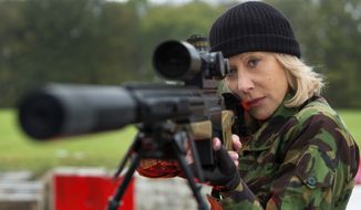 "Helen Mirren in a scene from ""Red 2."" (AP Photo/Summit Entertainment, Frank Masi)"