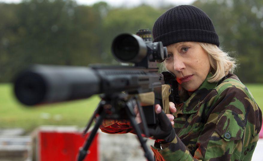 "Helen Mirren in a scene from ""Red 2."" (AP Photo/Summit Entertainment, Frank Masi)"