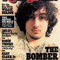 Boston Marathon bombing suspect Dzhokhar Tsarnaev appears on the cover of the Aug. 1, 2013, issue of Rolling Stone magazine. (AP Photo/Wenner Media)