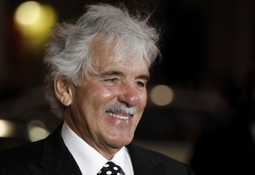 "FILE - In this Jan. 25, 2012 file photo, Dennis Farina arrives at the premiere for the HBO television series ""Luck"" in Los Angeles. Farina died suddenly on Monday, July 22, 2013, in Scottsdale, AZriz., after suffering a blood clot in his lung. He was 69. (AP Photo/Matt Sayles, File)"