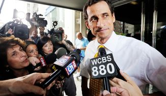 Former Rep. Anthony Weiner. (Associated Press) ** FILE **