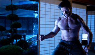 "Hugh Jackman as Logan/Wolverine in a scene from the film, ""The Wolverine.""  (AP Photo/Twentieth Century Fox, Ben Rothstein)"