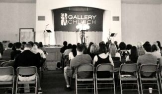 Gallery Church services (Twitter)