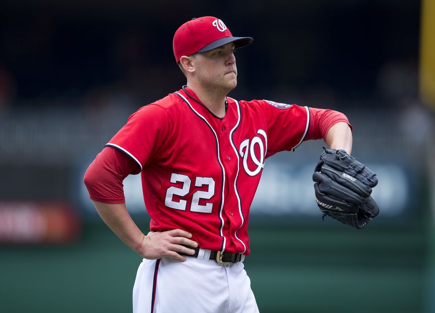 Washington Nationals right-hander Drew Storen was optioned to Triple-A Syracuse on Friday night. (Associated Press photo)