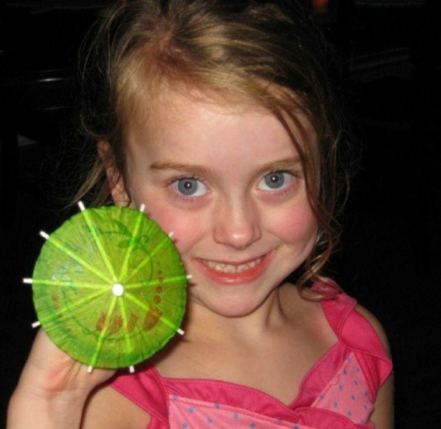 Zoe Ose, aged 9. (Photo courtesy of Scott Ose.)