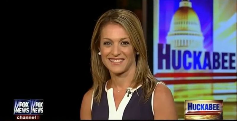 "The Washington Times' Emily Miller on the Fox News show ""Huckabee."" July 27, 2013."