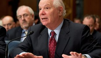 """Many states have cooperated, some have not,"" Sen. Benjamin L. Cardin, Maryland Democrat, said Monday of the health care law while in Waldorf, Md. ""Some have a mixed record. They maybe voiced opposition but still moved forward to try to get federal funds.  There's more confusion out there than there should be."" (Associated Press)"