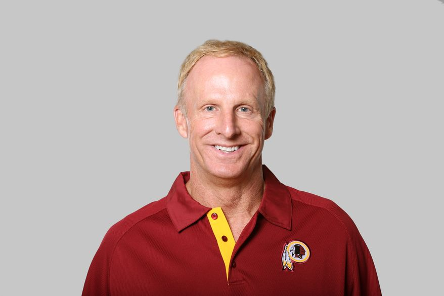 This is a 2013 photo of Jim Haslett of the Washington Redskins NFL football team. This image reflects the Washington Redskins active roster as of Monday, June 10, 2013 when this image was taken. (AP Photo)