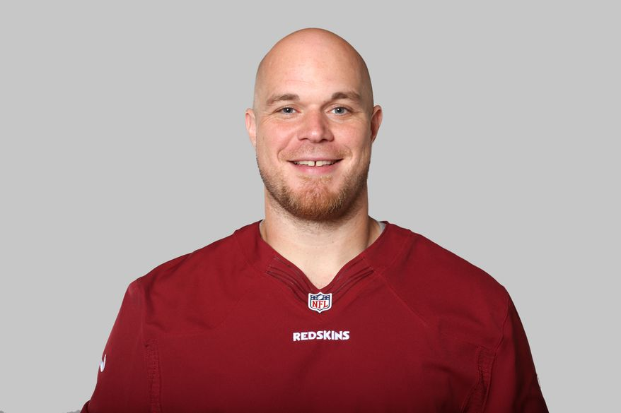 This is a 2013 photo of Jeremy Trueblood of the Washington Redskins NFL football team. This image reflects the Washington Redskins active roster as of Tuesday, June 11, 2013 when this image was taken. (AP Photo)