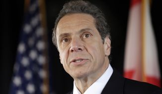 New York Gov. Andrew Cuomo (AP Photo/David Duprey)