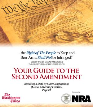 Download the supplement (including a State by State Compendium of Laws Governing Firearms), available in the July 31, 2013, edition of The Washington Times. (4 MB)