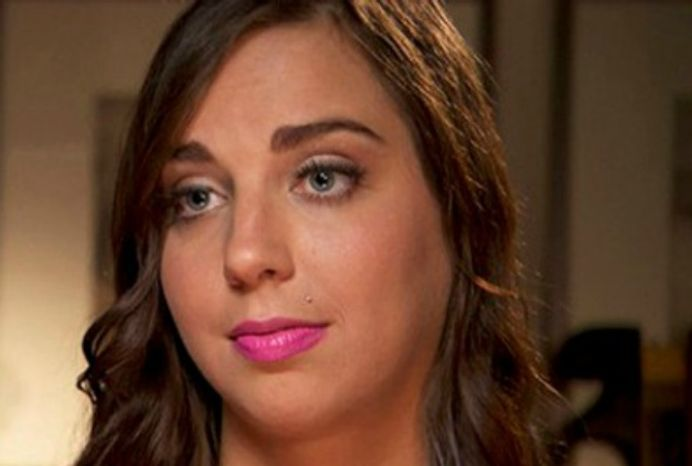 Sydney Leathers (Image: Inside Edition screengrab)