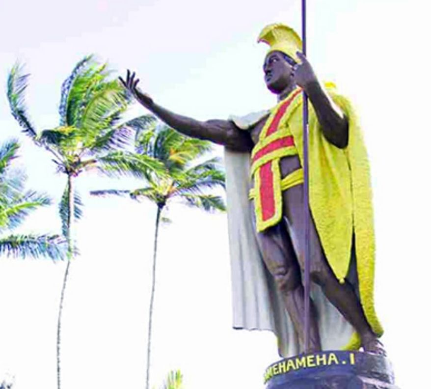 King Kamehameha Statue. (credit: Hawaii Tourism)