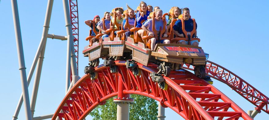 A little bit of fear is part of the thrill of amusement park rides. The odds of actually being injured, though, are 1 in 24 million.