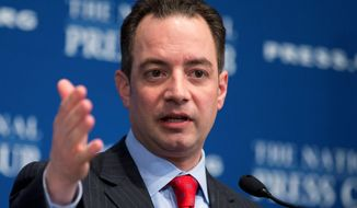 **FILE** Republican National Committee Chairman Reince Priebus. (Associated Press)