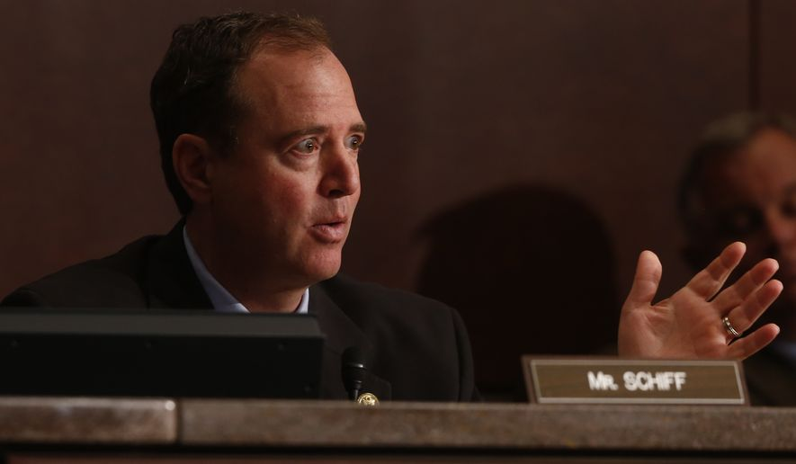 **FILE** Rep. Adam Schiff, California Democrat (Associated Press)