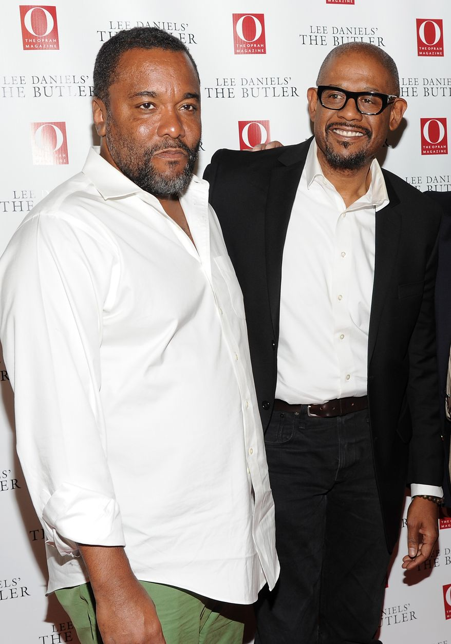 "Director Lee Daniels, left, and actor Forest Whitaker attend a special screening of  ""Lee Daniels' The Butler"" hosted by O, The Oprah Magazine last month in New York. (Photo by Evan Agostini/Invision/AP)"