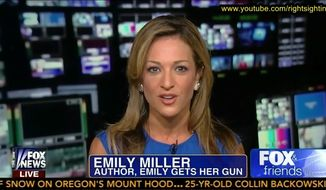 Emily Miller on Fox News. August 5, 2013
