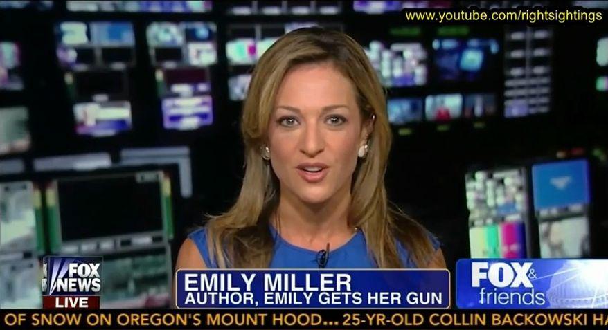 Emily Miller on Fox News. August 5, 2013