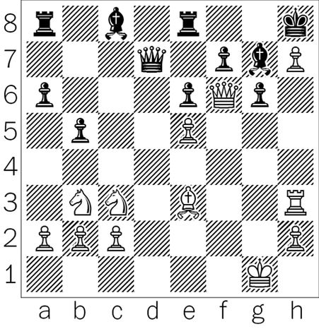 Zhou-Chakraborty after 25...Bg7.