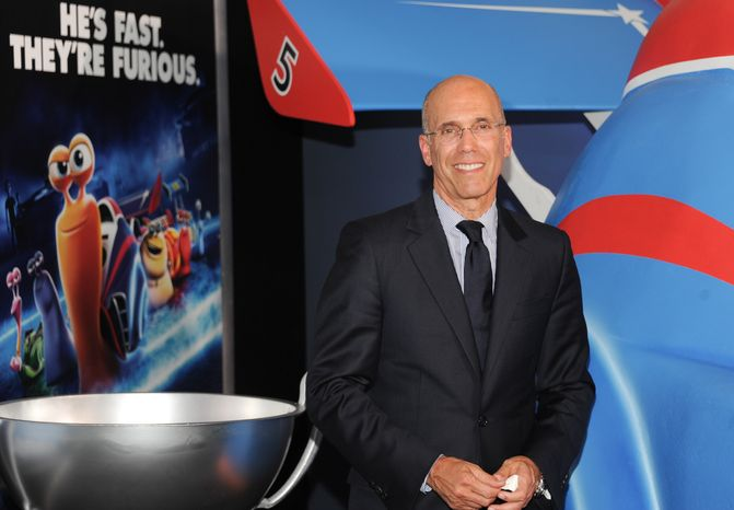 """**FILE** DreamWorks CEO Jeffrey Katzenberg attends the premiere of """"Turbo"""" at the AMC Loews Lincoln Square in New York on July 9, 2013. (Evan Agostini/Invision/Associated Press)"""