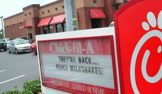 Chick-fil-A. (Associated Press)
