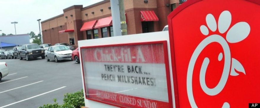 Chick-fil-A. (Associated Press) ** FILE **