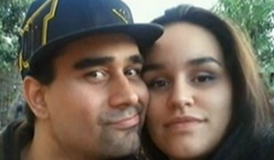 Derek Medina, left, is accused of killing his wife Jennifer Alonzo. (image: NBC 6 Miami) ** FILE **