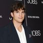 """Actor Ashton Kutcher attends a special screening of """"JOBS"""" hosted by the Wall Street Journal at the Museum of Modern Art in New York on Aug. 7, 2013. (Evan Agostini/Invision/Associated Press)"""
