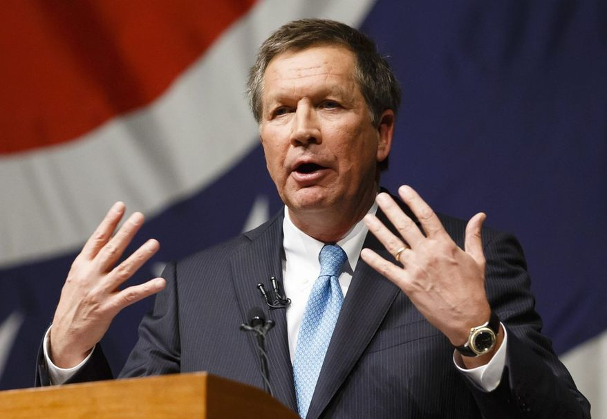 Ohio Gov. John R. Kasich, a Republican, had proposed expanding Medicaid, but the state legislature balked. Now the state is considering a series of proposals that would resurrect and codify the expansion. (ASSOCIATED PRESS)