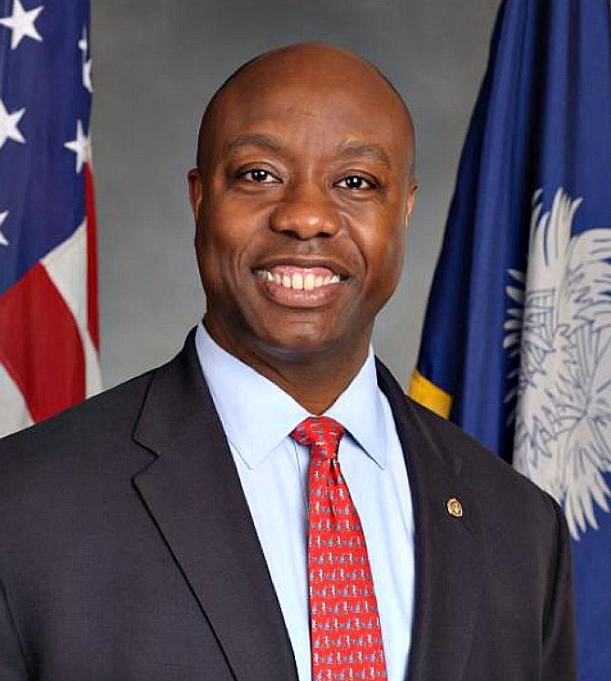 ** FILE ** Sen. Tim Scott, South Carolina Republican (scott.senate.gov)