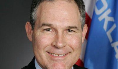 ** FILE ** Oklahoma Attorney General E. Scott Pruitt. (Screen grab from http://www.oag.ok.gov)